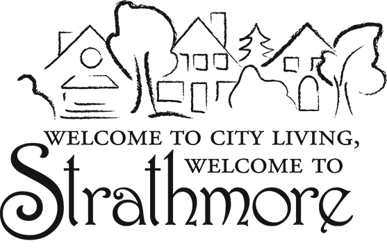 Greater Strathmore Neighborhood Association Retina Logo